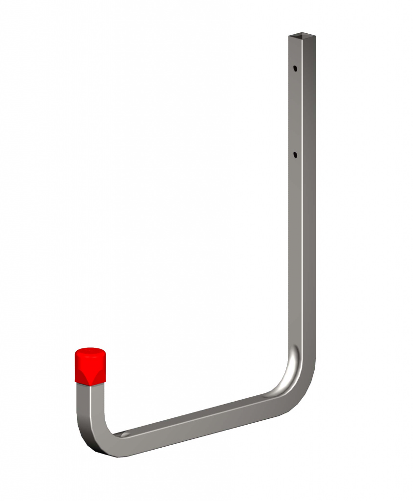 Alfer Wall Hook Galvanised Steel - 250mm