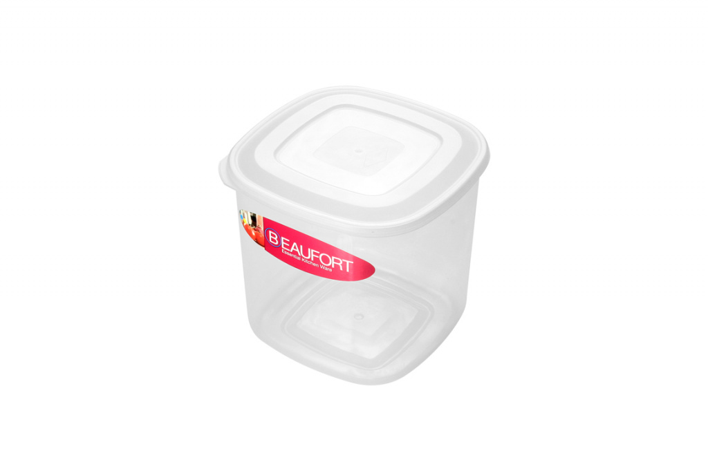 Beaufort Square Food Container - 2L Clear