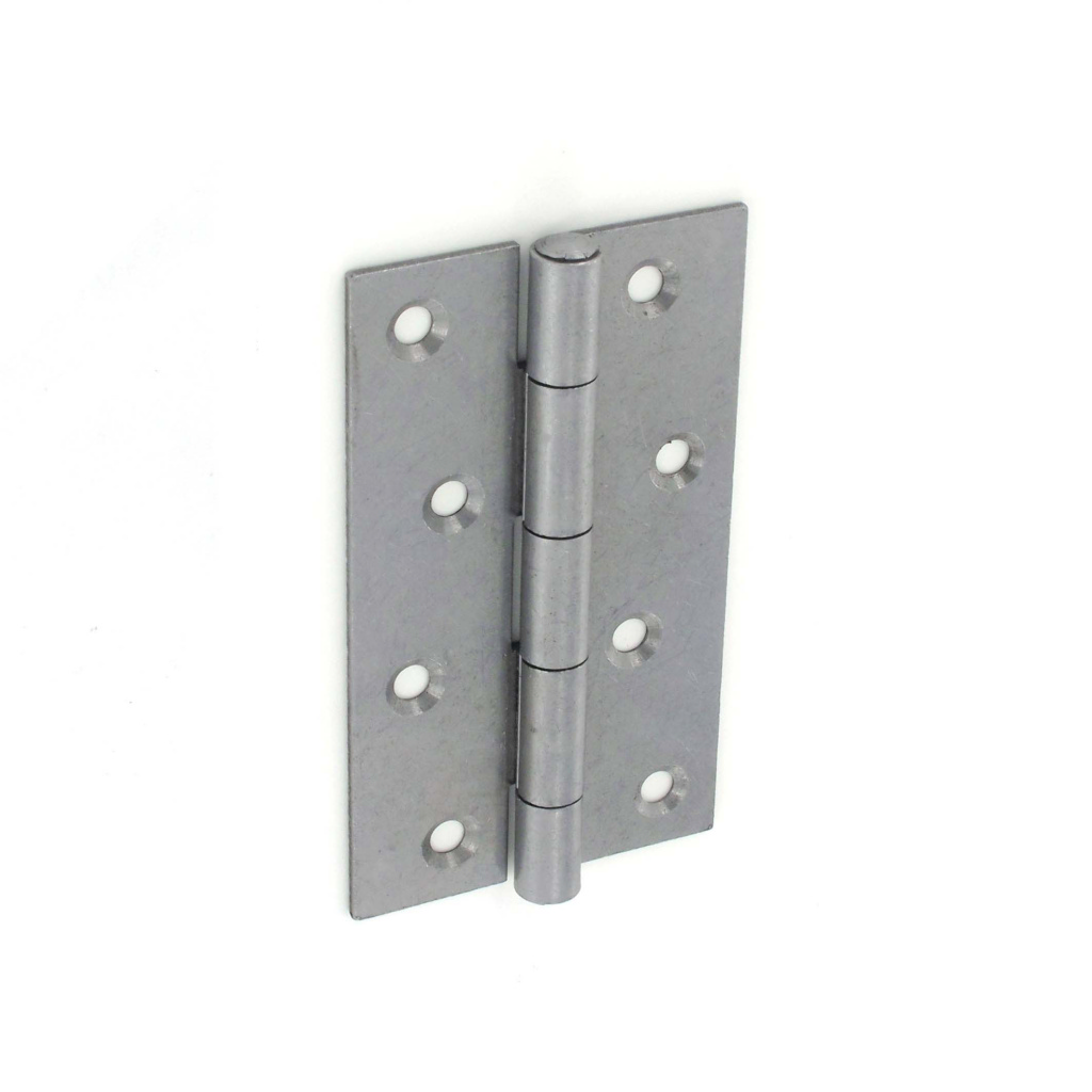 Securit 5050 Steel Narrow Butt Hinges Self colour PR - 125mm