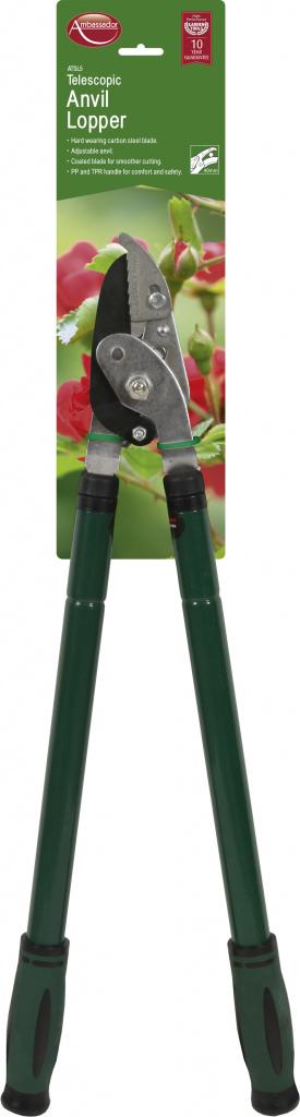 Ambassador Telescopic Anvil Lopper - Carbon Steel Blade