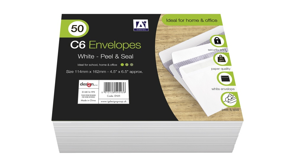 Anker C6 Envelopes - Pack 50