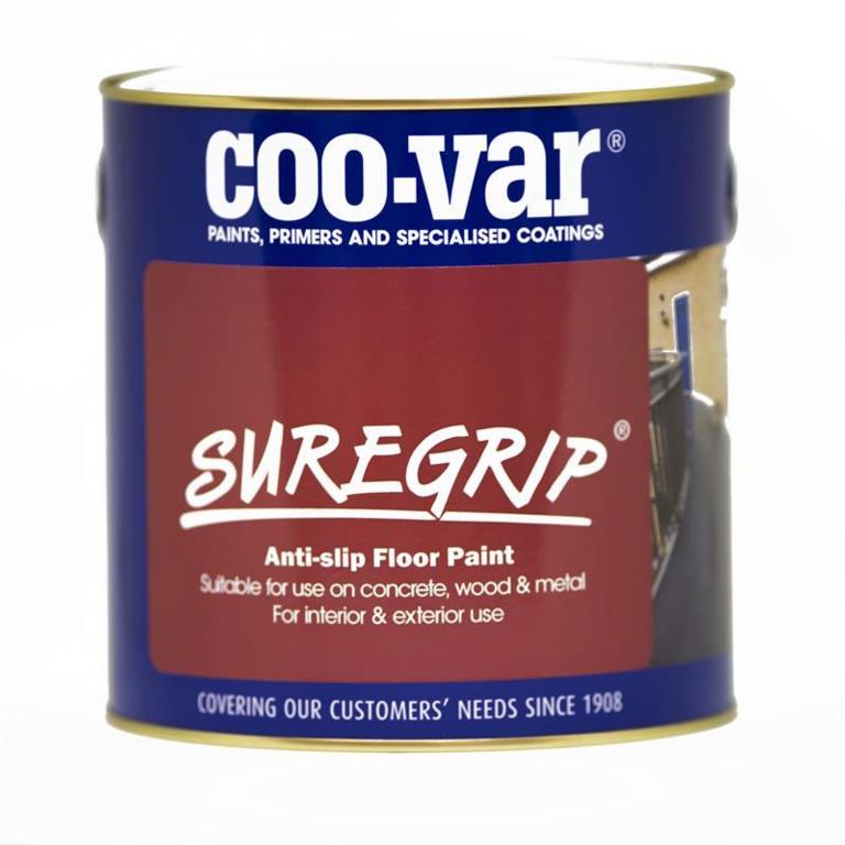 Coo-Var Suregrip Anti Slip Floor Paint 1L - Black