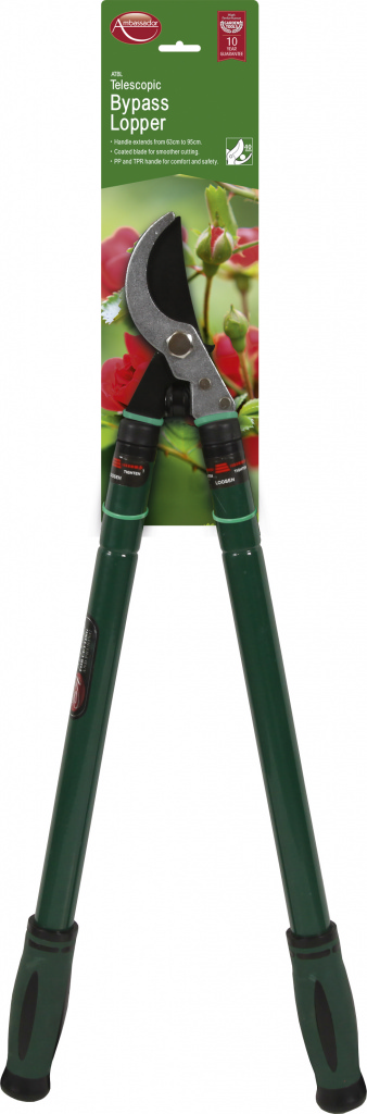 Ambassador Telescopic Bypass Lopper - High Carbon Steel Blade