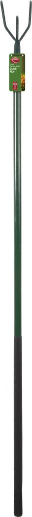 Ambassador Carbon Steel Long Handle 3 Prong Cultivator - Length: 162cm. Foam Handle Length: 61cm