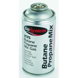 GoSystem Butane Propane Mix Gas Cartridge - Stax Trade Centres