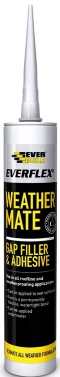 Everbuild Weather Mate Sealant - C3 Clear