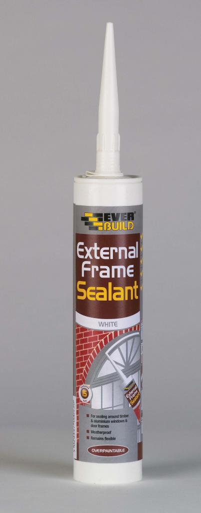 Everbuild External Frame Sealant - C3 Brown