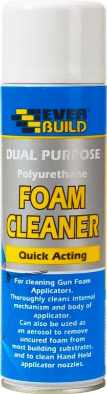 Everbuild Dual Purpose Foam Cleaner - 500ml