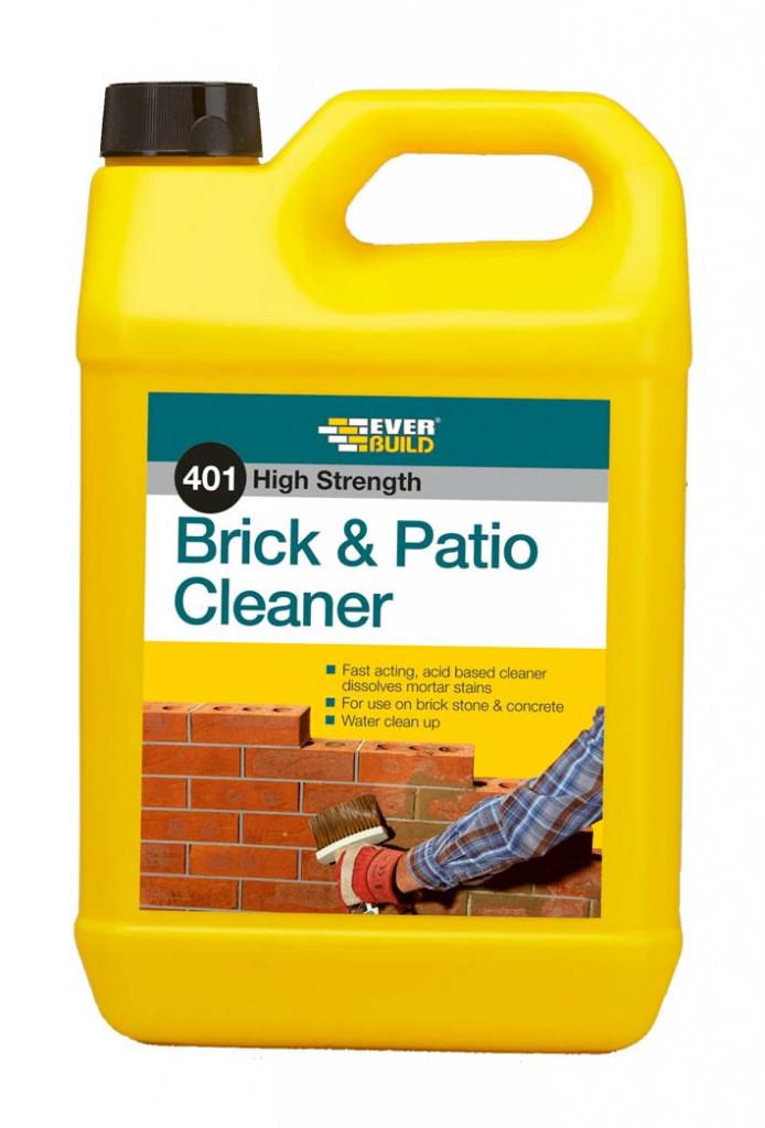 Everbuild 401 Brick & Patio Cleaner - 5Lt