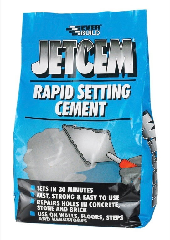 Everbuild Jetcem Rapid Setting Cement - 3kg