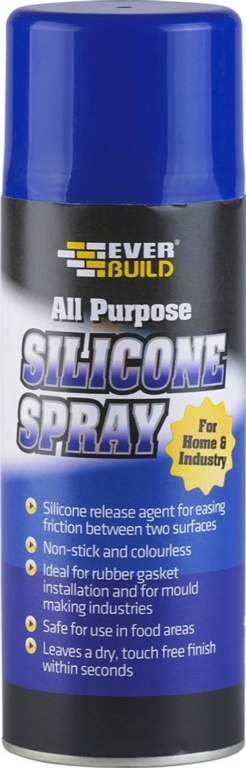 Everbuild Silicone Lubricant Spray - 400ml