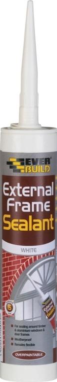 Everbuild External Frame Sealant - C3 White