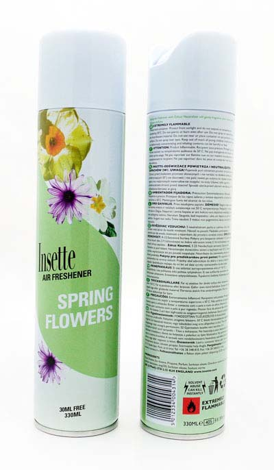 Insette 2 in 1 Air Freshener - Spring Flowers