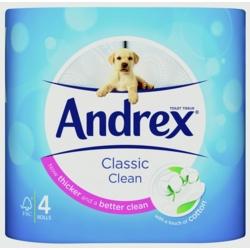 Andrex White Toilet Roll