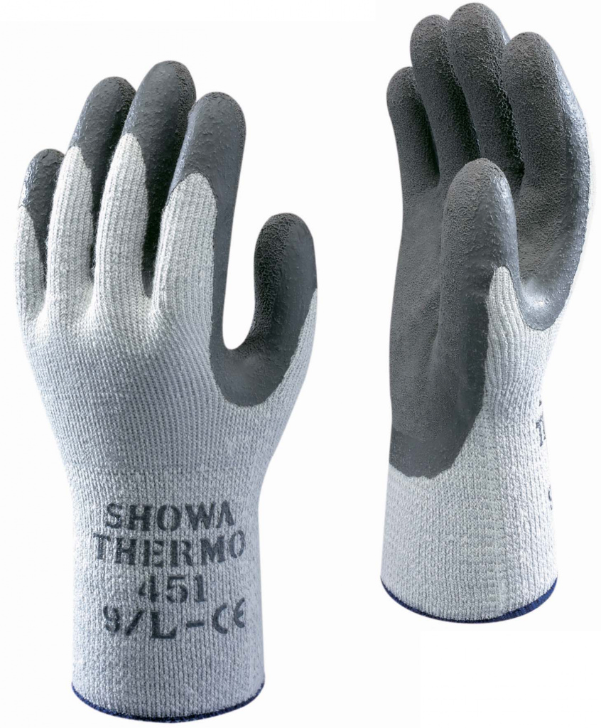 SHOWA Grip Grey Thermo Glove - XL