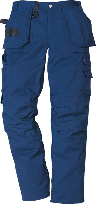 "Fristads Navy Work Trousers - 32/33"" Tall"