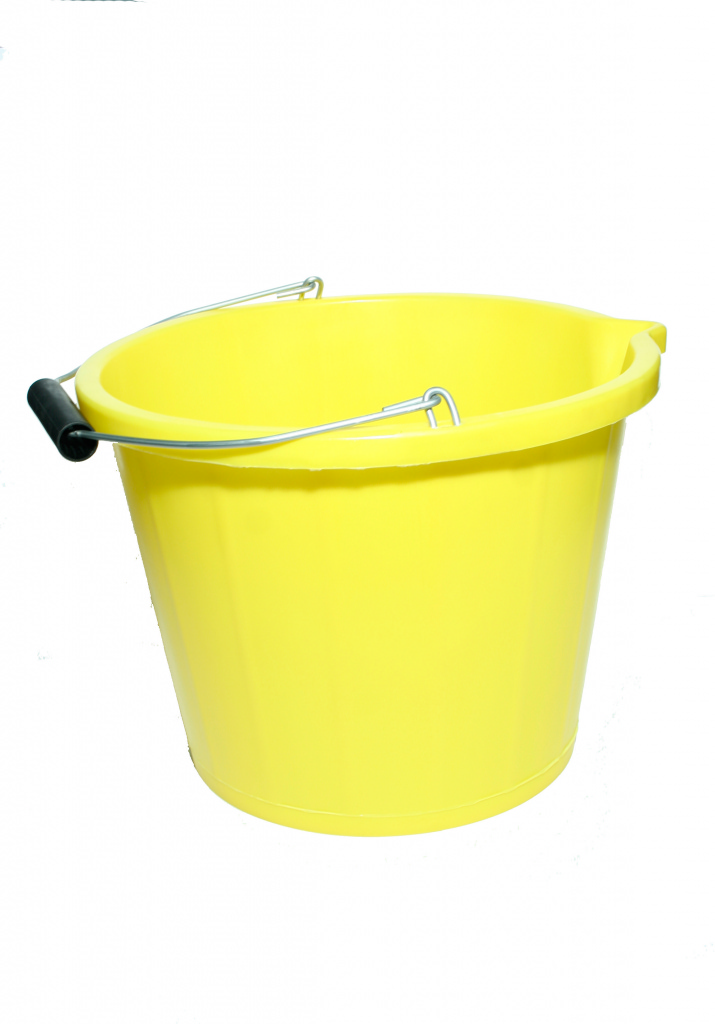 Proplas 3 Gallon Bucket - Yellow