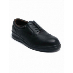 Dickies Oxford Black Safety Shoe - Size 6