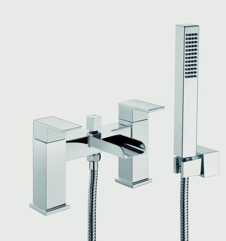 SP Cascade Bath Shower Mixer Tap - H: 146mm D: 180mm