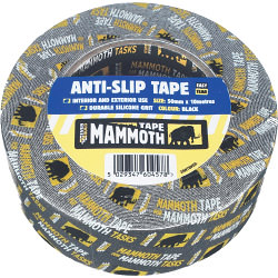 Mammoth Tape Anti-Slip Tape 50mm x 10m - Black