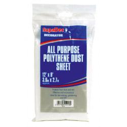 SupaDec All Purpose Polythene Dust Sheets