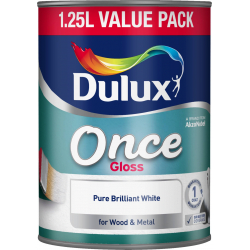 Dulux Once Gloss 1.25L