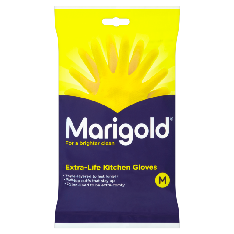 Marigold Kitchen Gloves - Medium