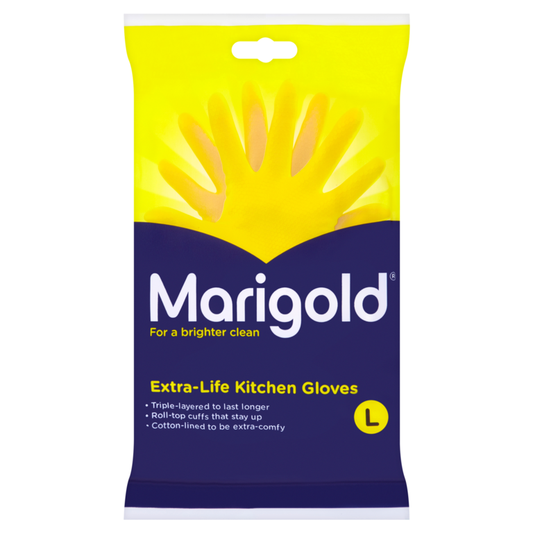 Marigold Kitchen Gloves - Large