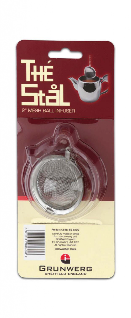Cafe Stal Mesh Ball Tea Infuser - 2""