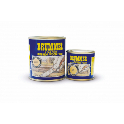 Brummer Yellow Label Interior Filler 250g Dark Mahogany