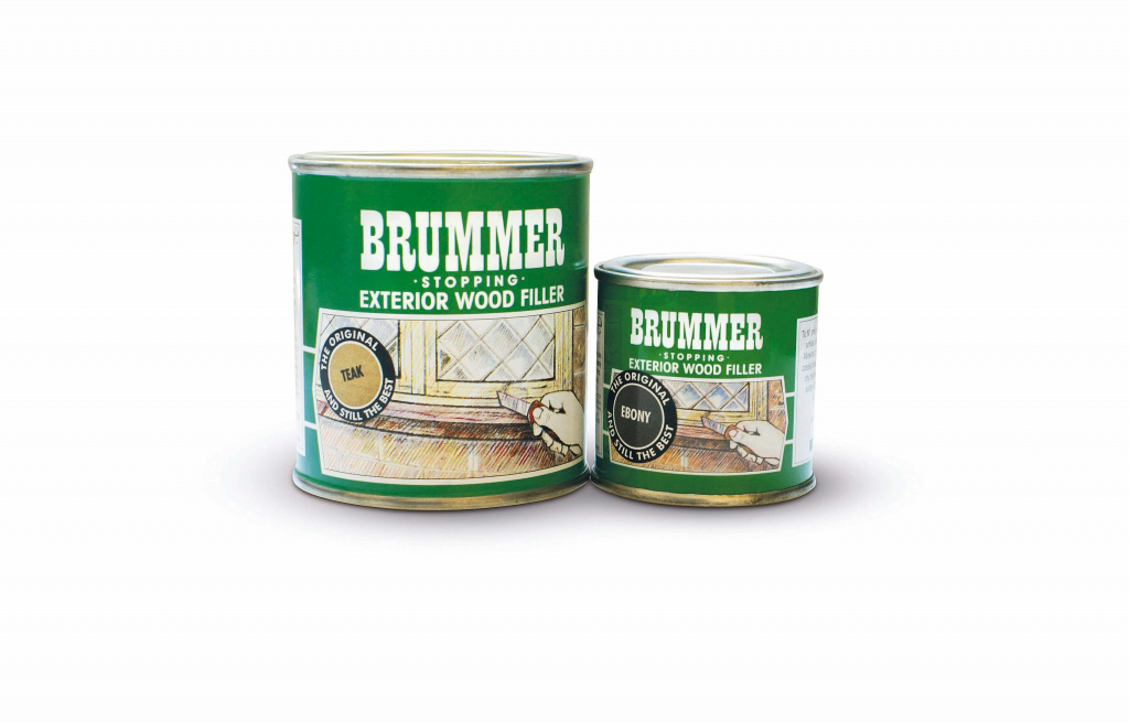Brummer Green Label Exterior Filler - 225g Medium Oak