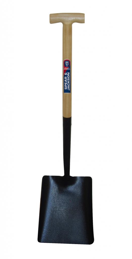 Spear & Jackson Contractors Square Mouth Shovel