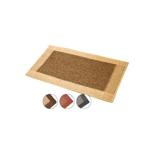 JVL Madras Door Mat Assorted Machine Washable - 50x80