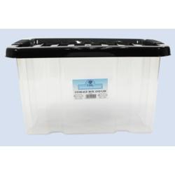 TML Box and Lid 24L Clear
