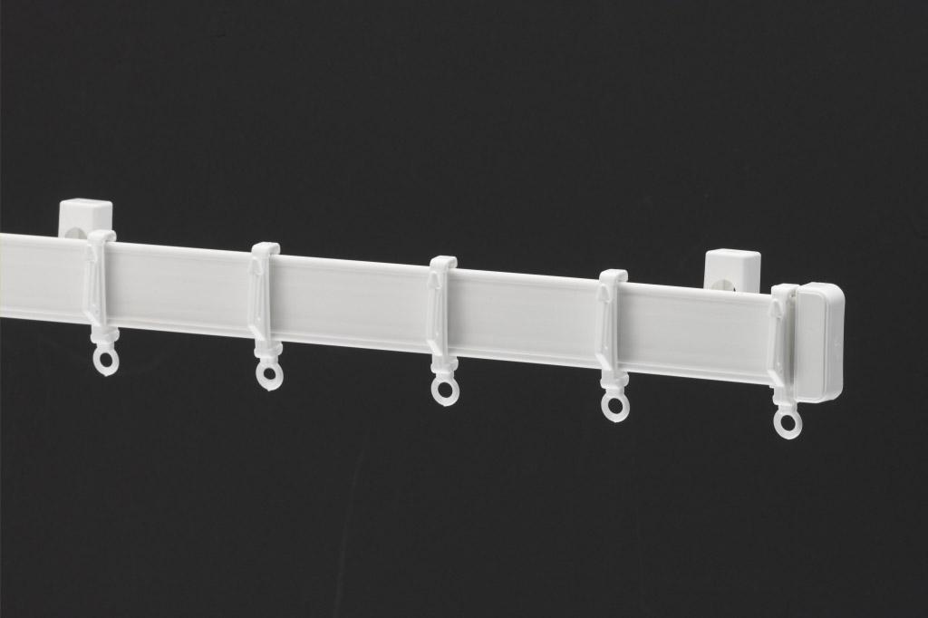 Harrison Drape Standard Drape Curtain Track - 270cm White