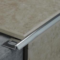 Tile Rite Silver Tile Edging - 2.4m x 10mm