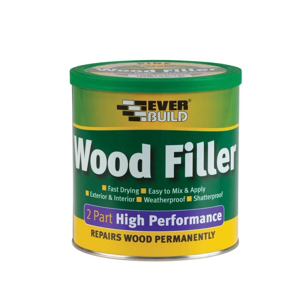 Everbuild 2 Part Wood Filler Pine - 1.4kg