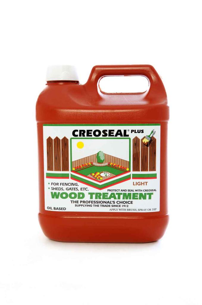 Creoseal Creosote Substitute Light - 4L