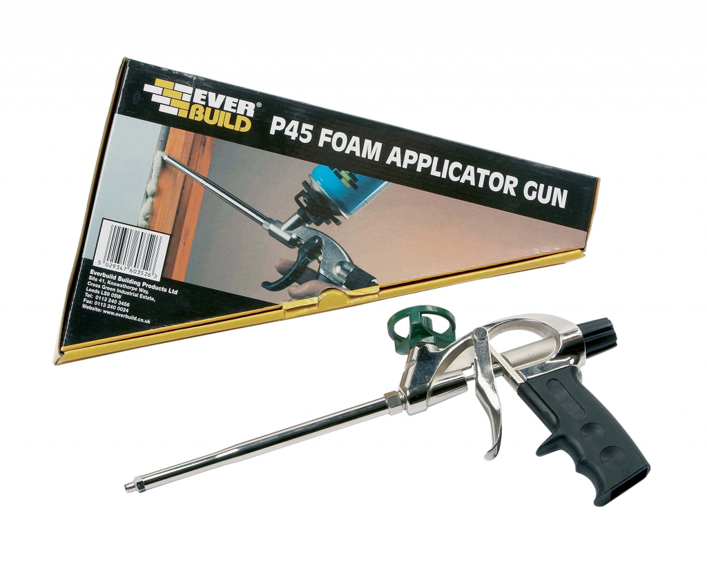 Everbuild Gun Foam M/D Metal Applicator