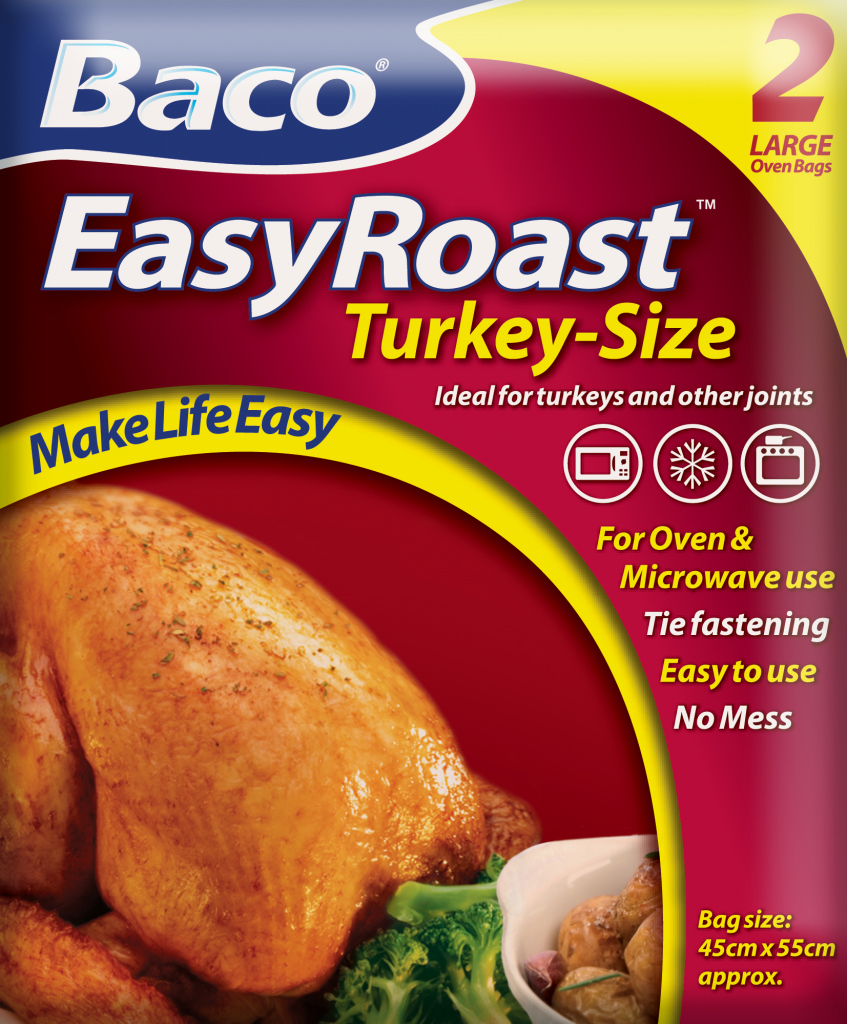 Bacofoil Turkey Roasting Bags - 2 Bags