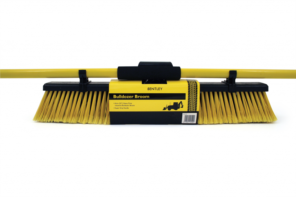 Bentley Large Bulldozer Brush With Handle - 24""