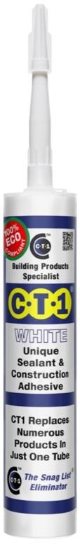 C-Tec Cartridge CT1 290ml - White