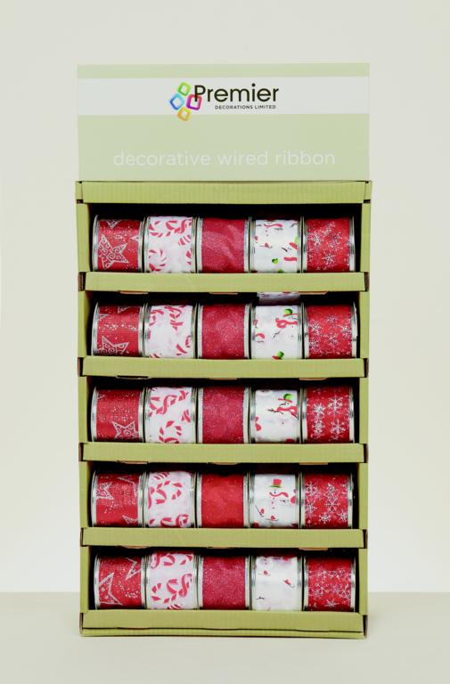 Premier Ribbon Collection Red White - 2.7m