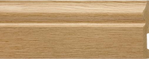 Emafyl Skirting Board 100mm x 2.9m - Oak Effect