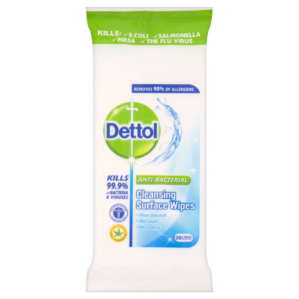 Dettol Surface Cleanser Wipes - 20's