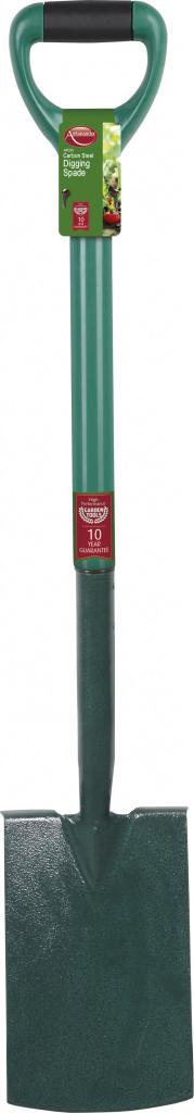 Ambassador Carbon Steel Digging Spade - Length: 98cm