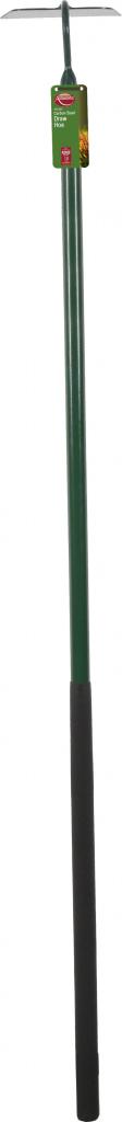 Ambassador Carbon Steel Draw Hoe - Length: 142cm. Foam Handle Length: 61cm