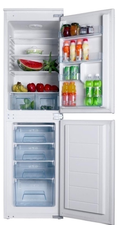 Tecnix Integrated Fridge Freezer 60cm - 50/50