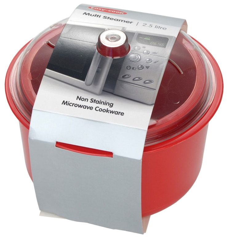 Pendeford Rice & Veg Steamer - Red