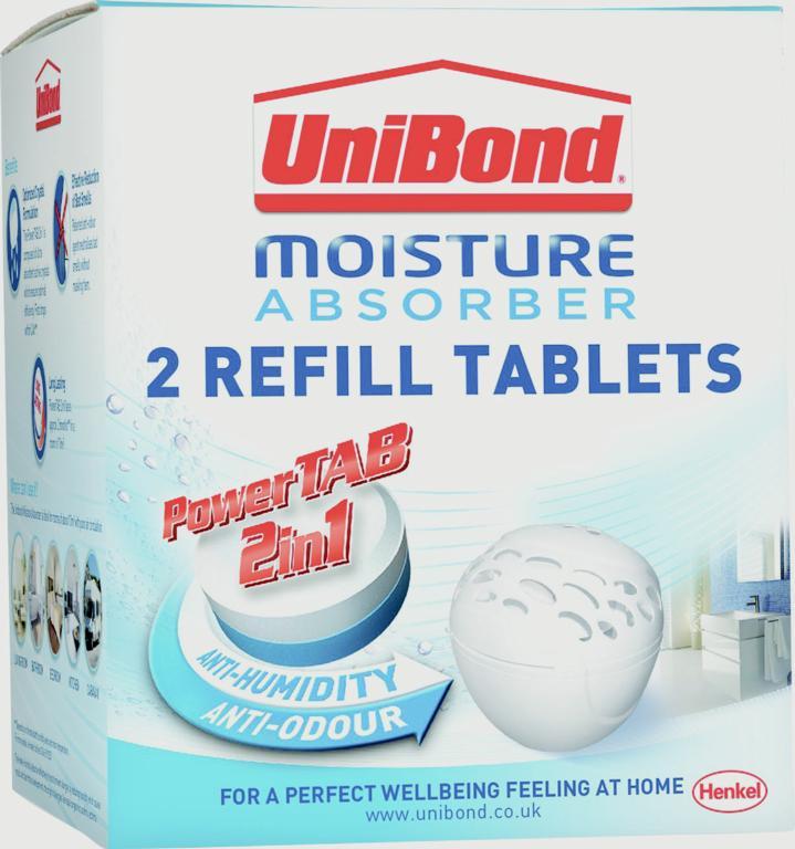 UniBond Moisture Absorber Refill - 2 x 300g